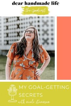 Whether you have daily goals you jot down on a sticky note or in Google Calendar or big goals that you chronicle in your journal or marinate on in your daydreams or both, I have four goal-getting tips on our podcast today for you to take them from dream to done. Wellness Activities, Daily Goals, Google Calendar, Waiting List, Business Tips, The Secret, Journal, Marketing, Note