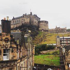 Good morning Edinburgh  #Edinburgh #Scotland #edinburghcastle #castle #viewfrommyroom #inlove #beautiful #hostel #view #kickasshostel #anxious by juli_o_lopes