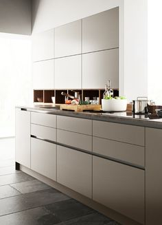 Modern Kitchen Cabinets with Goldreif, by Poggenpohl   Sarah Sarna