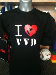 Tee-shirts I love VVD