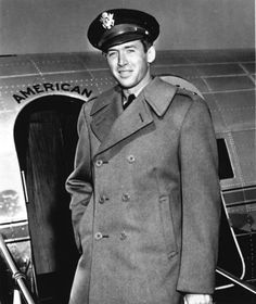 James Stewart in the Army Air Corps during World War II