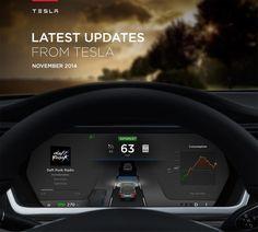 La Tesla est également équipé de pilote automatique. Cette fonction de pilote automatique maintient vitesses et les distances des autres voitures, reste dans les ruelles, voies passe si nécessaire, et se arrête à stopsigns, feux de circulation, ou pour éviter les obstacles ou les accidents.
