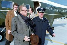 Bruno Kreisky bei einem USA-Besuch im Februar 1983