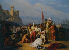 Vincenzo Giacomelli, Surrender of the Crusaders