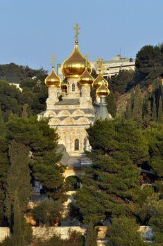 Church of Saint Mary Magdalene - Mount of Olives, Jerusalem