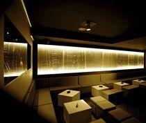 Panneau décoratif rétro-éclairé en acrylique (pour agencement intérieur)