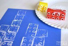 Geometric LEGO Blueprints: A STEAM activity for Kids