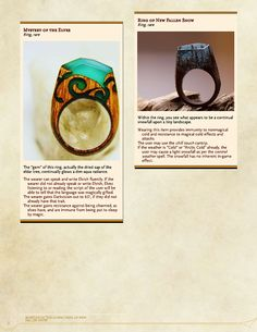 Remarkable Rings