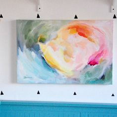 Are you interested in our original abstract art painting? With our colourful abstract painting you need look no further.