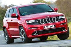 Jeep's big bruiser now much sophisticated Jeep Grand Cherokee Srt, Luxury Suv, Badass, Wheels, Muscle, Trucks, Bike, Sport, Cars