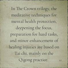 Qigong, The Crown, Tai Chi, Of My Life, Martial Arts, Mental Health, Meditation, Healing, Author