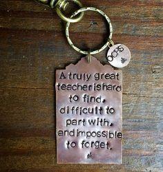 Teacher Key Chain. Gift for Teacher Boss Mentor Doctor. Teacher Gift. Personalized Custom. End of Year Gift. Thank You. Got Keys. Cool by RaiseMyGlass on Etsy