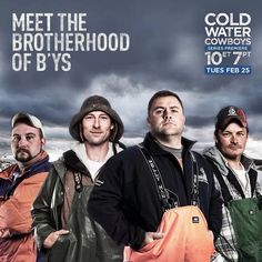 Coldwater Cowboys, Newfoundland fishermen on Discovery Canada.