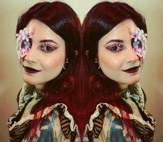 My Steampunk make-up.https://youtu.be/AlbH7RbEfVw