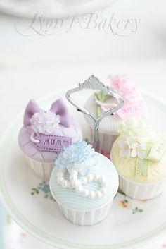Pastel Cupcakes