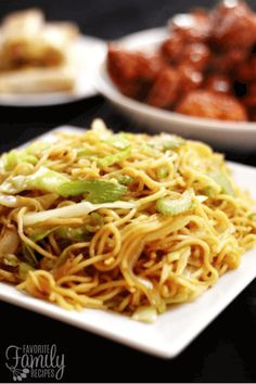 This recipe is a HIT at our house! It tastes just like the chow mein they serve at Panda Express! Plus you can make a ton for a fraction of the price!