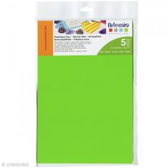 Plástico loco - Verde - 21,5 x 28 cm - 5 uds - Fotografía n°1