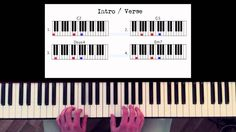 How to play: Carly Rae Jepsen - Call me maybe. Original Piano lesson. Tu...