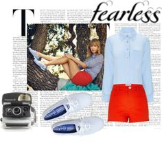 """Taylor Swift Keds Photoshoot"" by annabellex0x0 on Polyvore"