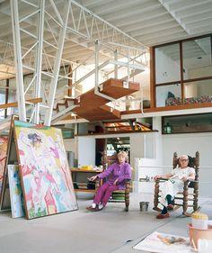 Willem de Kooning studio, East Hampton, NY