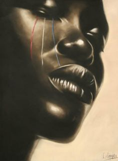 Image result for black art tears