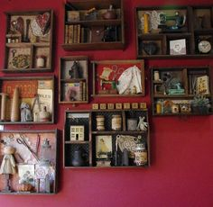 Love these, awesome idea for old drawers and crates!
