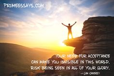 Always be yourself and believe in your success! Remember that you have PrimeEssays.com - a professional assistance that can help you to succeed in your academic life.