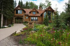 log cabins in the woods - Google Search