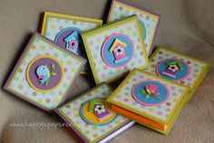 pretty crafty lady with Etsy shop. These are post-it covers....darling!!
