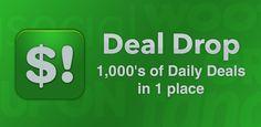 Deal Drop - Track Daily Deals