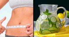 Reduce tu cintura de 10cm en solo 4 días con esta bebida natural. Healthy Salads, I Love Food, Drinks, Fitness, Tips, Natural, Frases, Drinking, Beverages
