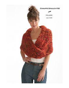 e57769f4dcdc Modelo Chal CB17-02- Explicacion para tricotar. Modèle Écharpe Tricot  GratuitModele ...