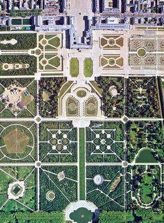 Chateau de Versailles | aerial view