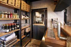 View the full picture gallery of Unto Palermo, Fast Food, Love Your Home, Restaurant Interior Design, Restaurant Bar, Coffee Shop, Liquor Cabinet, Architecture Design, Restoration