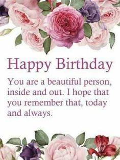 Free Happy Birthday Cards, Happy Birthday Wishes For A Friend, Happy Birthday Wishes Quotes, Birthday Wishes And Images, Happy Birthday Pictures, Birthday Blessings, Birthday Greeting Cards, Card Birthday, Happy Birthday Beautiful Friend