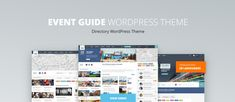 Event Guide theme -> for your directory & listings website 🎉 Event Guide, Found You, Current Location, Event Management, Wordpress Theme, Portal, Online Business, Language, Map