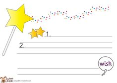 HereS A  Stars And  Wish Exit Slip Under Stars Students Write