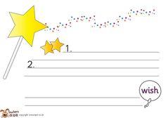 Teacher's Pet Displays » 2 Stars and a wish bundle » FREE downloadable EYFS, KS1, KS2 classroom display and teaching aid resources » A Sparklebox alternative