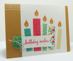 05/08/2015 Song of my Heart Stampers: Cute Candles;  Stampin' Up! Build A Birthday