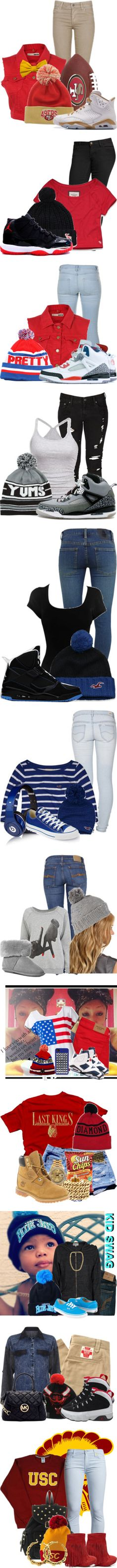 """""""beanie swagg"""" by najia12 ❤ liked on Polyvore"""