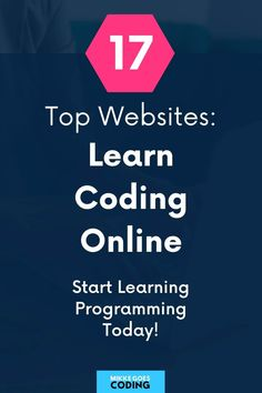 Find the best websites to learn coding for beginners right now! If you want to start a career and make money with web development and programming skills in the new year, use these tips, tutorials, online courses, and resources to learn to code from absolute scratch - no previous experience needed! #mikkegoes #coding #programming #learntocode #webdevelopment #technology #tech #webdeveloper Free Online Coding Courses, Learn Coding Online, Online Courses, Basic Computer Programming, Learn Programming, Coding For Beginners, Top Websites, Learn To Code, Work From Home Jobs