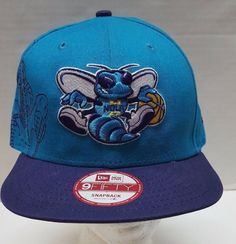 New Era 9Fifty NBA Charlotte Hornets Hat Med Lg Marvel Spiderman Snapback Cap #NewEra #CharlotteHornets