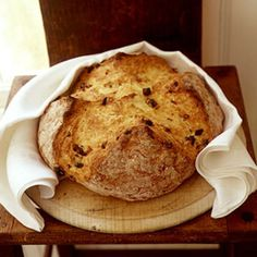The addition of raisins to this Irish classic adds a hint of sweetness to an otherwise hearty bread.