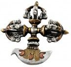 Double Three-Metal Phurba