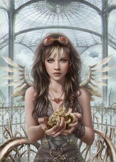 Steam Heart, Cris Ortega on ArtStation at https://www.artstation.com/artwork/steam-heart