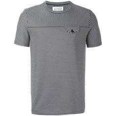 Maison Margiela contrast stripe T-shirt