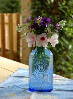 Simple bouquet showcasing summer's last blooms