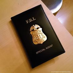 FBI Badge in Wallet