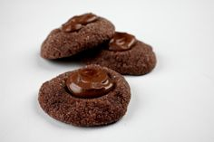 Salty Chocolate Nutella Thumbprints
