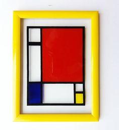 Hvala draga Emilija na divnom zadatku. Uživala sam radeći po tvojoj zamisli. Uramljena slika na staklu 26 x 34 cm. Inspired by the original painting of Piet #Mondrian. Ko je sledeći  ? #art #belgrade #slikarstvo #inspiracija #enterijer #urbisfloriana #Glasspainting #vitrayarts #madeinserbia #ig_belgrade #ig_srbija #commissionswelcome #beograd #slika Mondrian, Glass Art, University, Frame, Ideas, Home Decor, Homemade Home Decor, Jar Art, A Frame